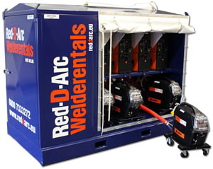 Red-D-Arc MIG/MAG Multi-Operator Welding Packages