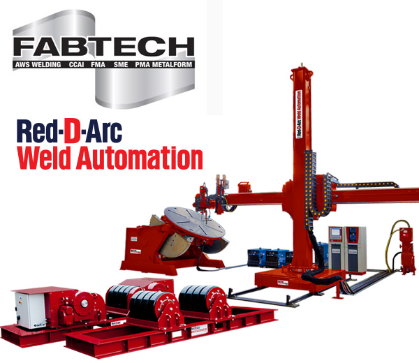 Red-D-Arc FABTECH S015 Welding Automation Display