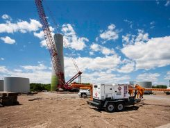 Generator at Niagara Ontario Wind Farm Project
