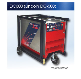 Used Lincoln DC600 Welder for Sale