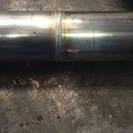 Nice weld produced by orbital welding on stainless steel