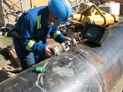 Pipeline welding inspector