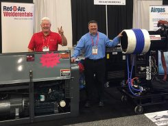 Red-D-Arc Employees at the Tulsa Welding Show