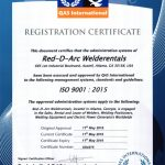 Red-D-Arc Atlanta Receives ISO 9001 2015 Certification