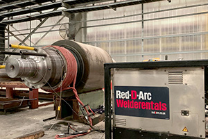 induction heating in industrial maintenance application