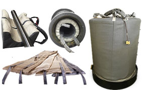 Pyro Shield Induction Heating Blankets, Clamshells, Plugs and Furnaces