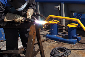 plasma cutting marine application