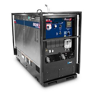 portable diesel generator rental unit