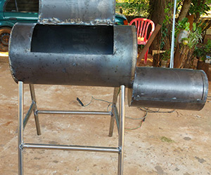 home welded smoker